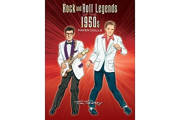 Rock & Roll Legends of the 1950s Paper Dolls