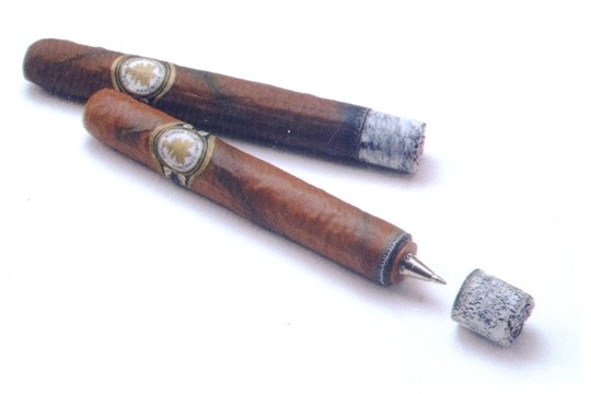 Authentic-Looking Fine Cigar Pen
