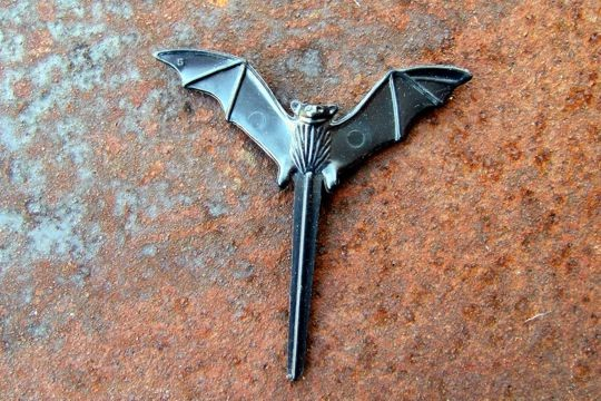 Package of 5 Scary Bat Cupcake or Decorative Picks