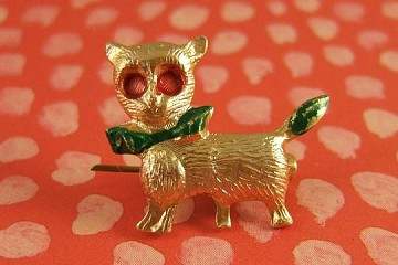 Metal Kitty Pin