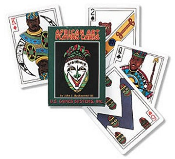 African Art Playing Cards