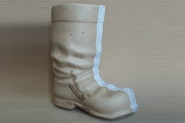 Large Papier Mâché Boot