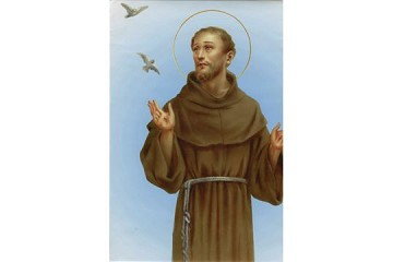 St Francis of Assisi Print