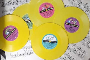 Vintage Alice in Wonderland Golden Record - Now Choose the Song