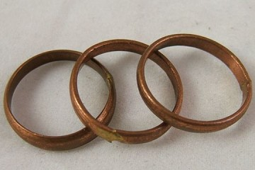 Vintage Hand-Made Copper Ring