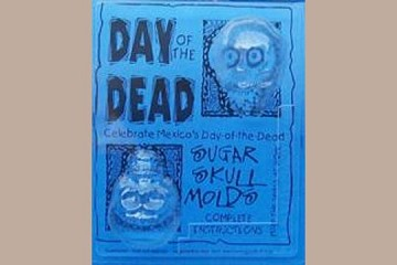 Sugar Skull Mold - Traditional Medium