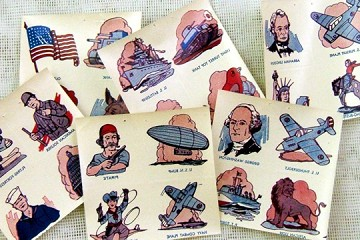 Package 24 Vintage World War II Decal Transfers