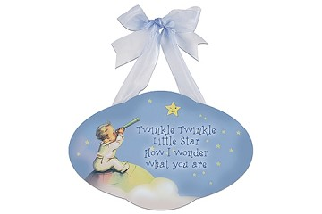 Twinkle Twinkle Little Star Wooden Plaque