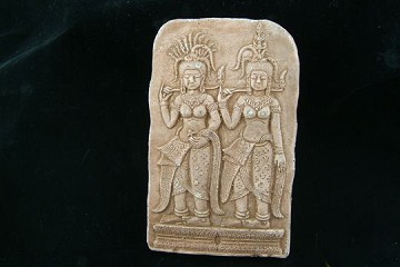 Buddhist Wall Hanging - Two Women